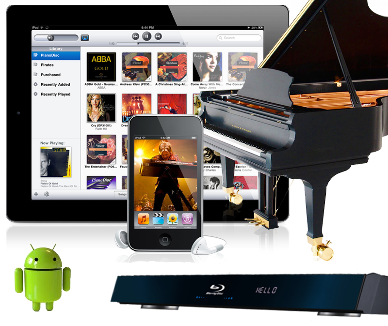Digital Player Piano Systems